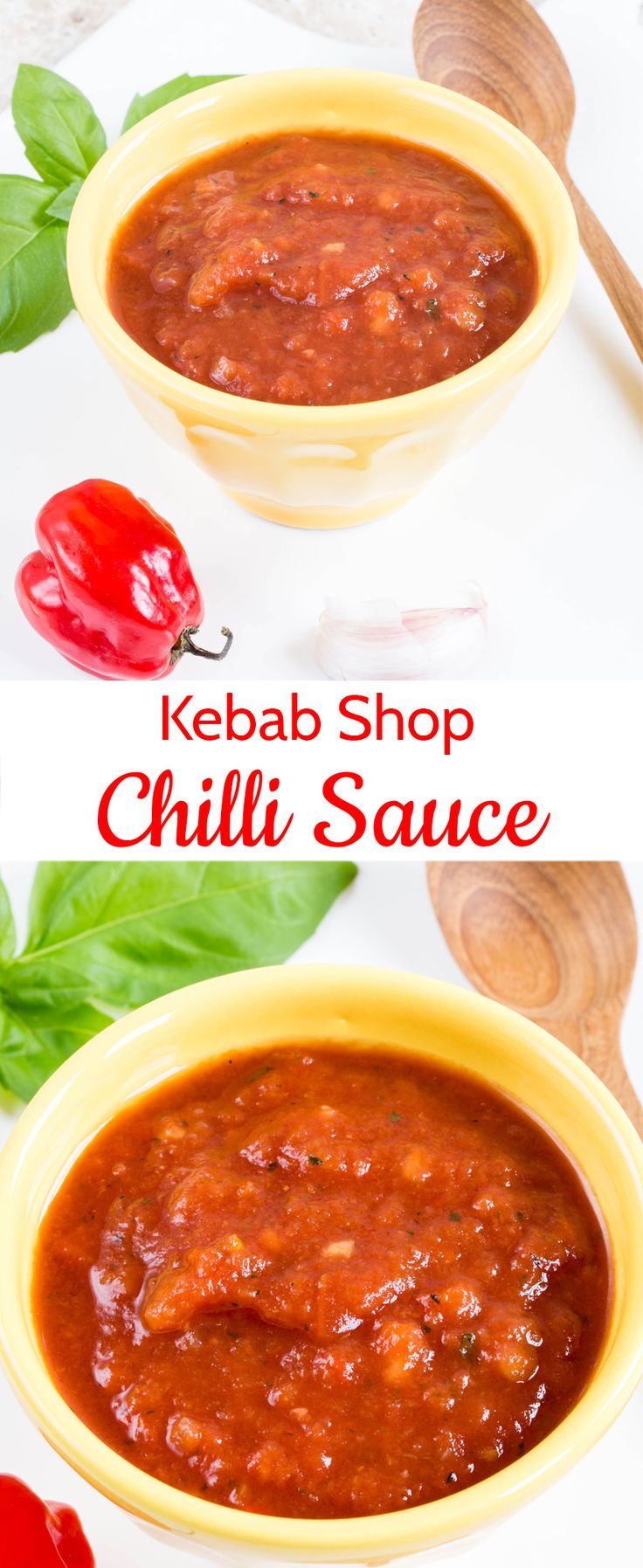 Kebab shop chilli sauce - takeaway style, authentic, no cook and as hot as you like.