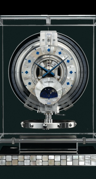Atmos du Millénaire Transparente Joaillerie - Jaeger-LeCoultre