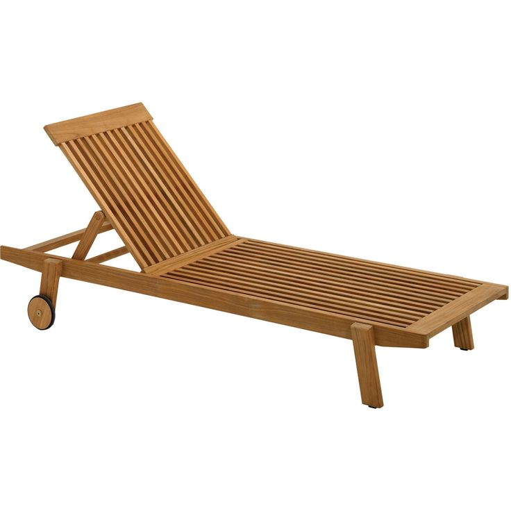 Gloster Clevedon Stacking Chaise Lounge Gloster Outdoor
