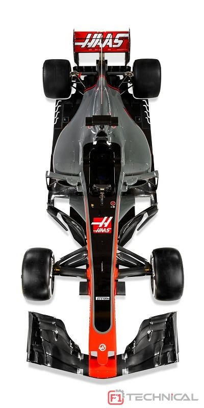 Haas F1 Team's 2017 challenger in the FIA Formula One World Championship, the VF-17