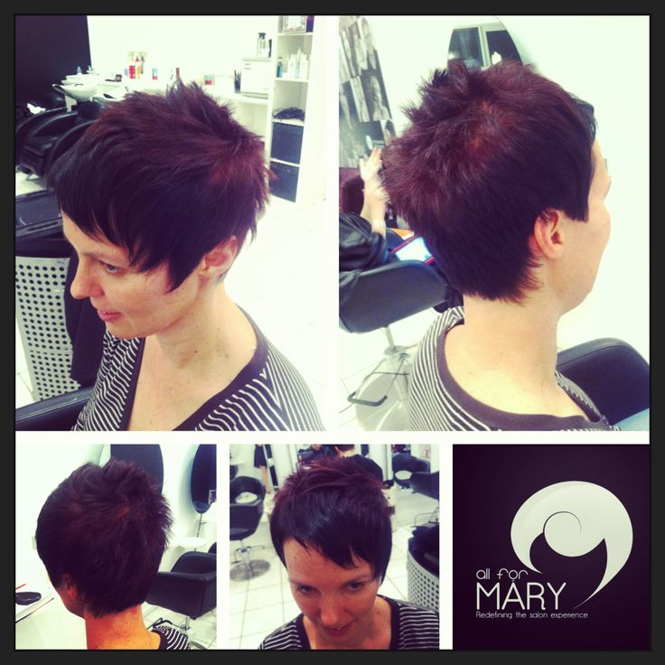 Loving Joanne's #funky #pixie #haircut and striking #colours! So 'her' <3 #salon #style #hair #haircolours All For Mary - Redefining the salon experience www.allformary.com