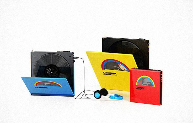 Portable Vinyl Players