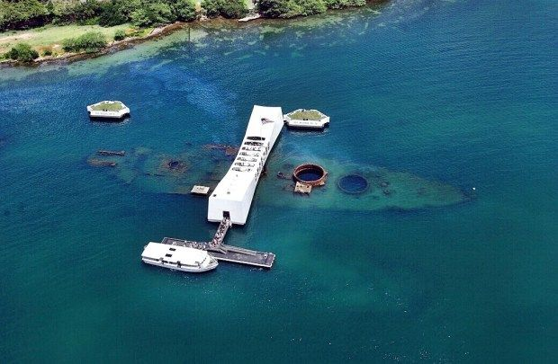 Pearl Harbor - USS Arizona Memorial - Honolulu