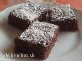 Fotorecept: Cuketový koláč s kokosom - Je to ľahký šťavnatý koláč. Hrnček je 250 ml