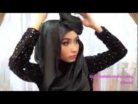 Hijab Tutorial(#10)-Dian Pelangi Hijab Inspiration - YouTube