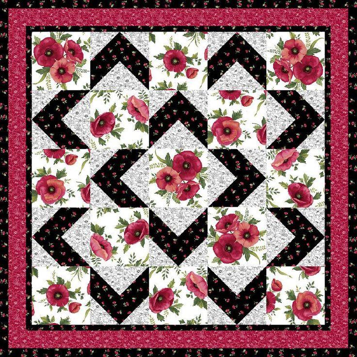 Walk About Quilt Pattern - Ann Lauer - Grizzly Gulch Gallery