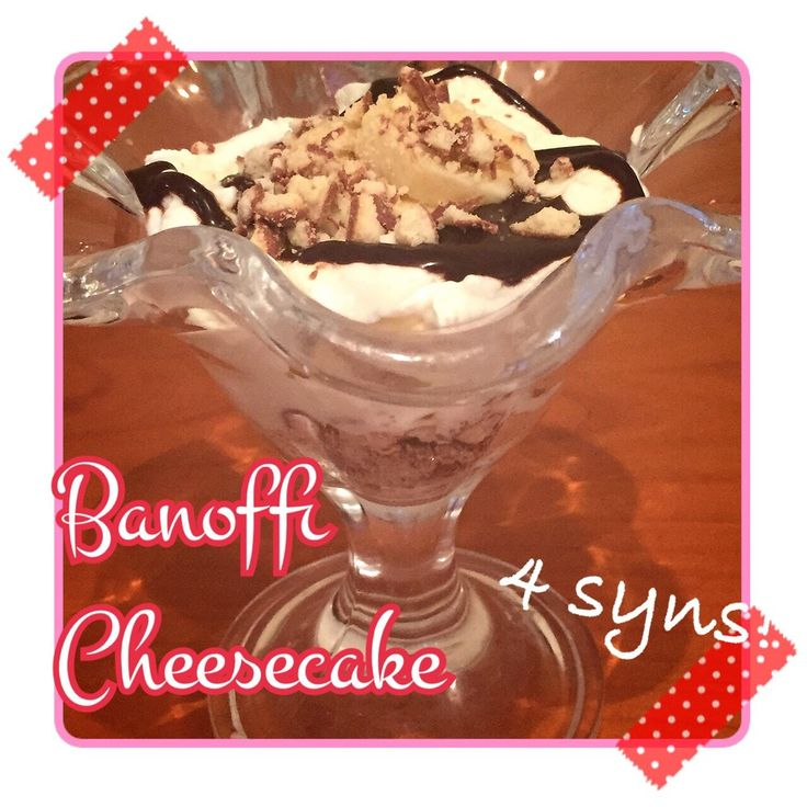 Sometimes you crave something more indulgent than a muller light. When you can spare a few syns of an evening, this dessert will take no more than 5 minutes to whip up. If you have a couple of Healthy B cereal bars ready to go, this will only be 2 syns. Otherwise, you can use 3 Cadbury chocolate fingers, which along with your choc shot brings the total to 4 syns. One extra note - it's well worth getting yourself a shnazzy dessert bowl/glass to feel like you're truly indulging! Ingredients…