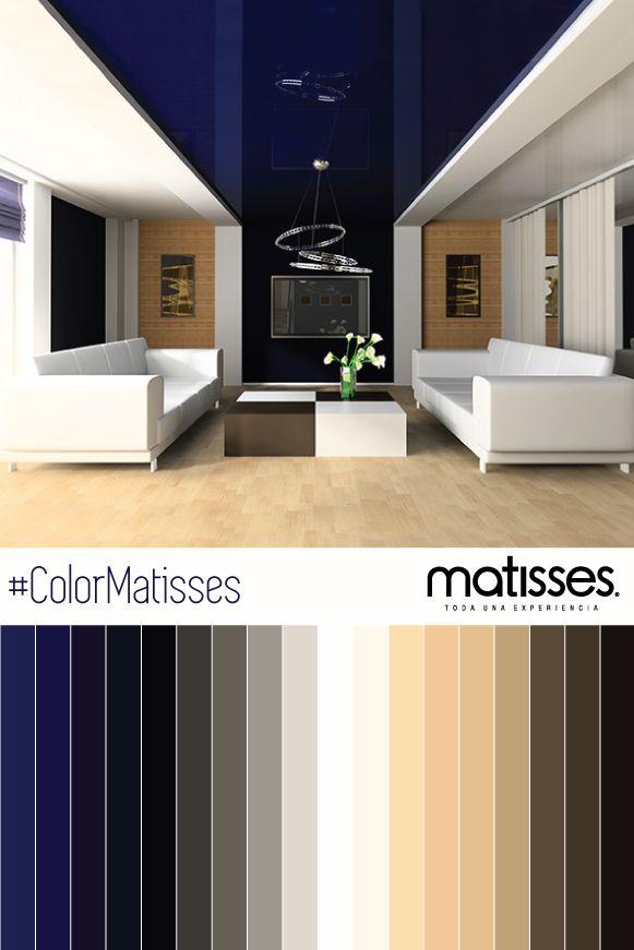 Para crear una atm sfera inspiradora y elegante combina - Paletas de colores para interiores ...
