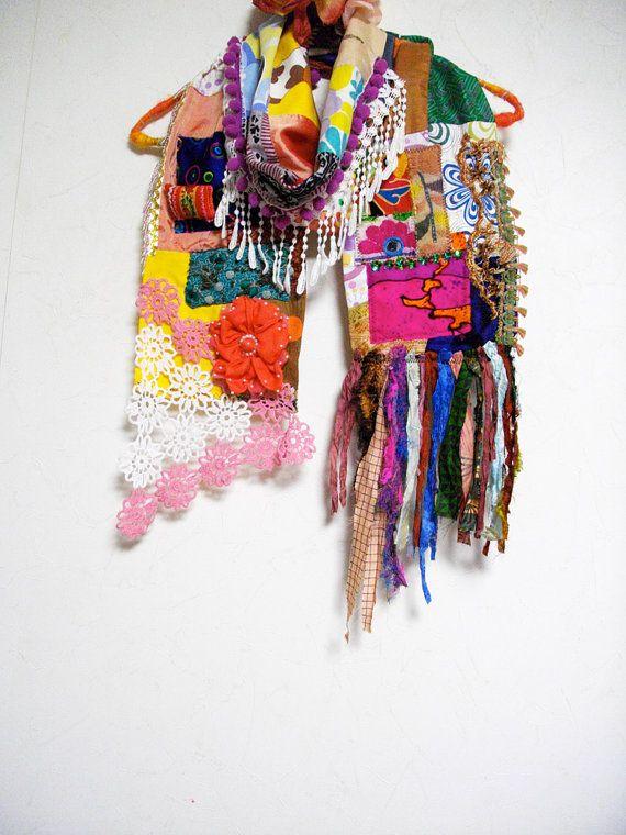 Mejores 26 imágenes de pashminas♡♡♡ telas,tejidas/crochet en ...