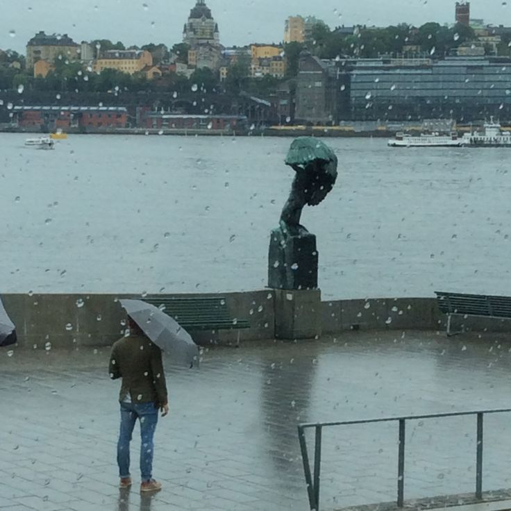 I Took This Photo When I Was On Hop On Hop Off Scandinavian Tour Bus Beautiful Stockholm Sweden During Rainfall Rainfall Photo Scandinavian