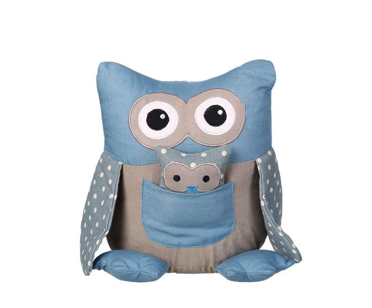 Дверной стоппер OWL - ткань, 23х18х15 см | Westwing Интерьер & Дизайн