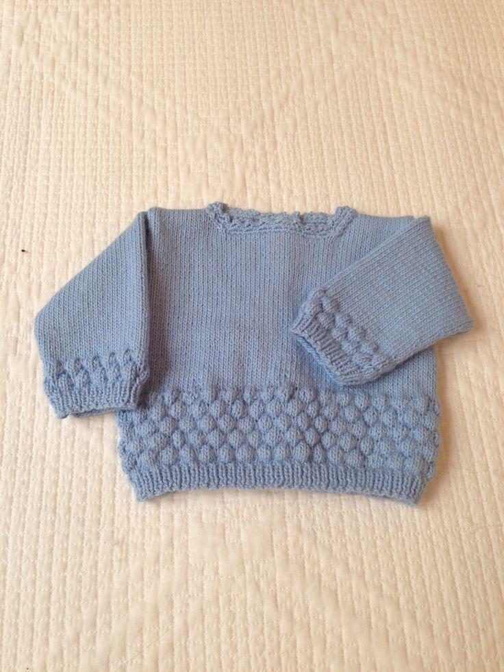 Jersey bebe globos hecho mano jersey de bebe pinterest - Patrones jerseys de punto hechos a mano ...
