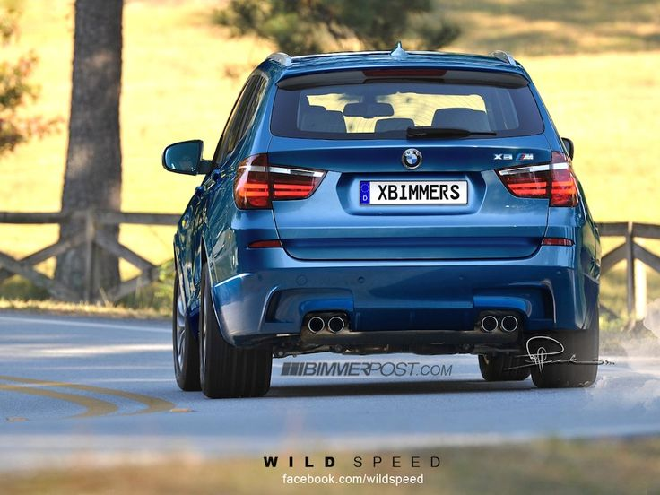 Renders: BMW X3 M Super SAV Imagined