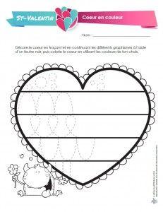 Coeur en couleur - LaFeuilleMobile.com