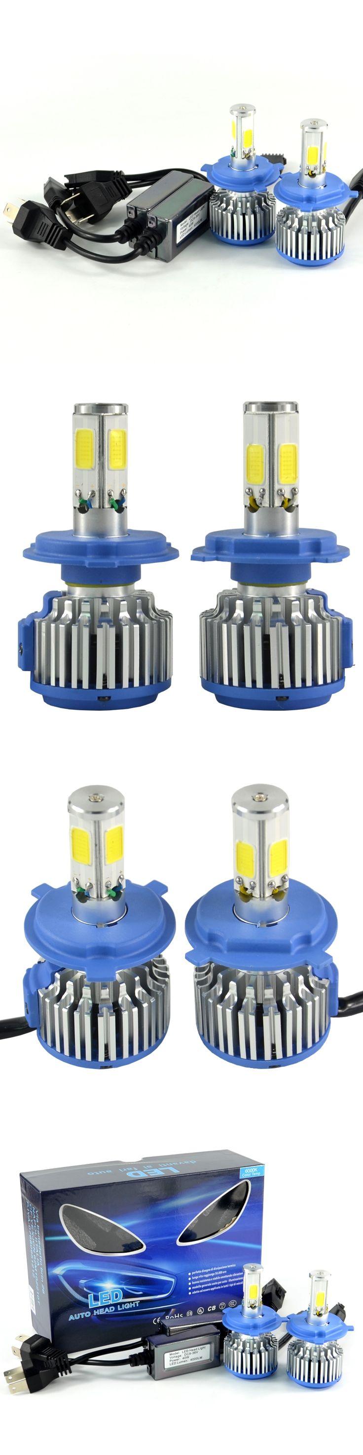 4-Sides 360Degrees 12V 2X40W 8000LM Superbright Car LED Headlights/ Auto Front Lamp H1/H3/H7/H8/H9/H11/H13/9005/9006/H4 LED Bulb