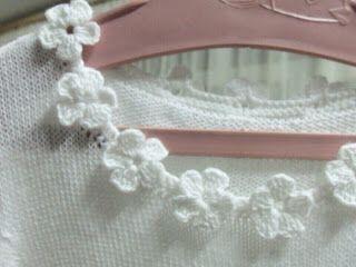 Tina's handicraft : decorative finish with flowers