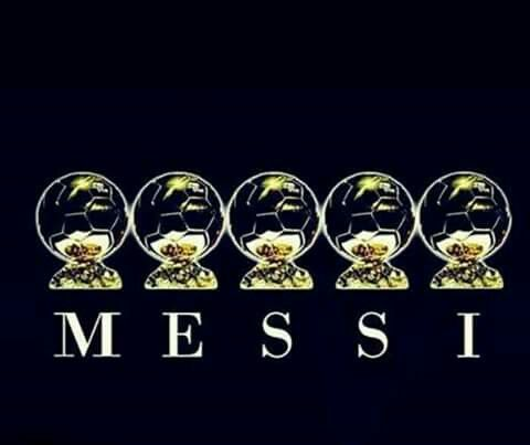 5 Record Breaking Ballon D'or ! Messi !!
