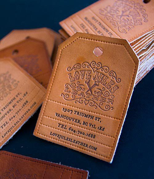 leather-business-cards-shaped-as-hangtag