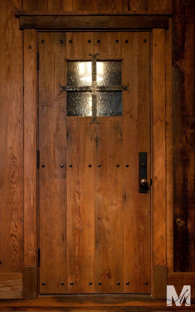 Rustic Door Frame Molding Doors For My Cabin Pinterest