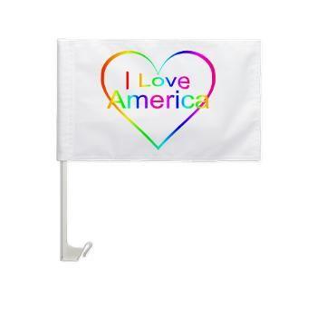 flags for car windows