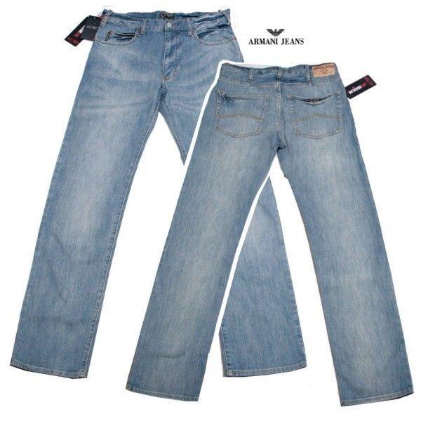 Armani Jeans - Colore Blu - Comfort fit - Taglia EU 33