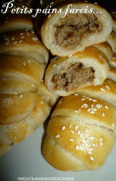 Petits pains farcis
