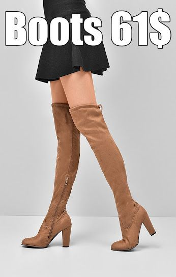 Boots Most fashionable this season boots over the knee. Classic brown color, made of high quality suede ecological, comfortable heel post. It provides comfort and style of every woman. https://www.cosmopolitus.com/kozaki-817117-brazowy-p-240650.html?language=en&pID=240650 #brown #suede #boots #womens #fashion #long #heel #post