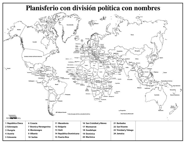 Best 25 Mapa mundi politico ideas on Pinterest  Interpretao de