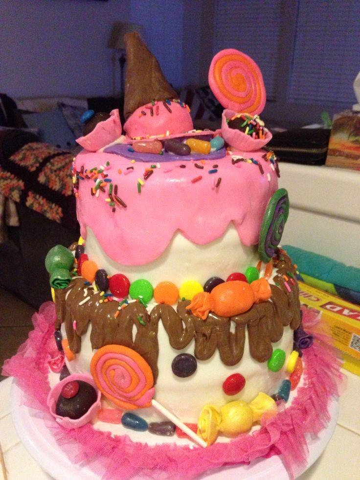 Vanellope Von Schweetz Inspired Cake Cake Pinterest