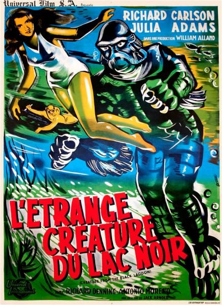 1954's classic The Creature From the Black Lagoon