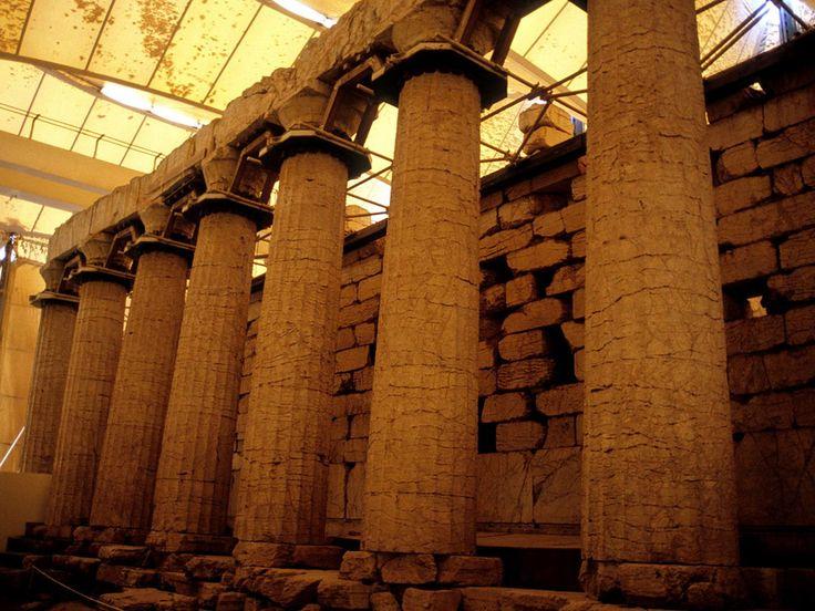 The Temple of Epicurius Apollo via @revealgreece