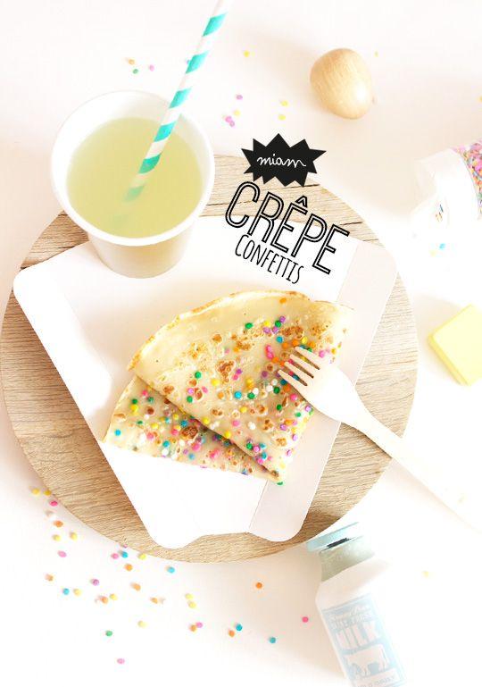 Crêpe Confettis - Peek It Magazine