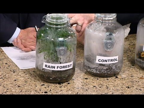The Greenhouse Effect - Cool Science Experiment - YouTube