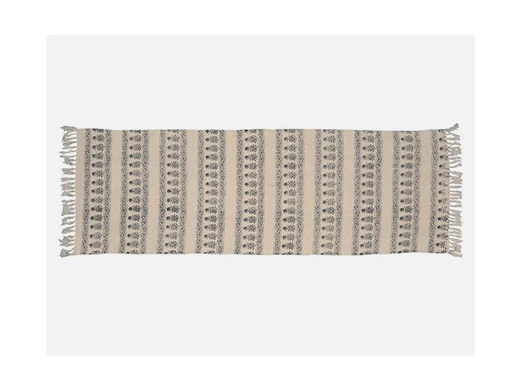 Dywanik w Ciemnoniebieski Kwiatowy Wzorek Podłużny — Dywany Ib Laursen — Sklep Mebelio™