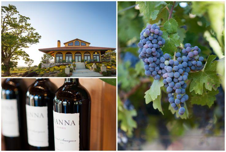 Hanna winery...good Sauv Blanc!