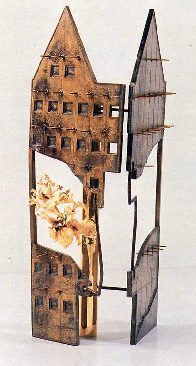 Adolfo Natalini, House at No. 4 Saalgasse, Frankfurt, Germany, 1980-1984