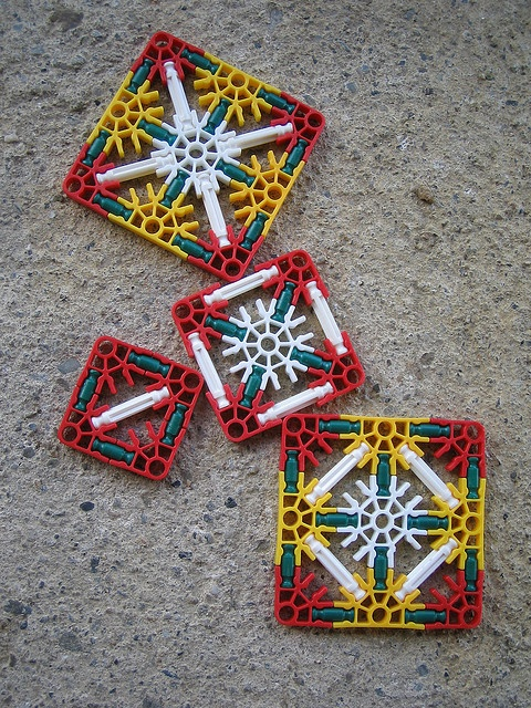 k'nex squares by Samuel Alasdair Finlay Eadie Gregg, via Flickr