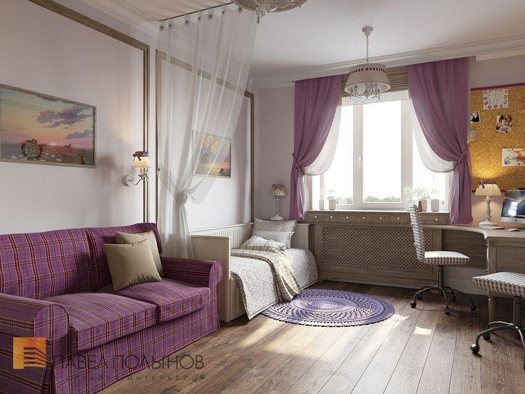 Фото: Детская комната - Дизайн трехкомнатной квартиры в ЖК «Академ-Парк», 83 кв.м.