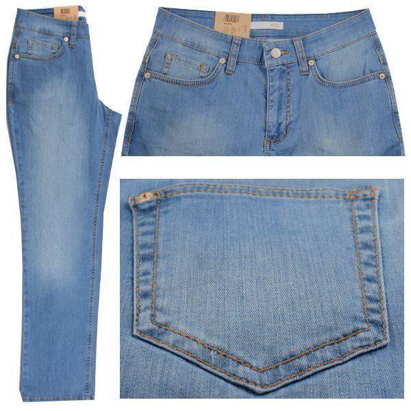 Form: 5381 ; Art.: 0315 ; Farbnr.: D417  Farbe: light blue used Jeans hellblau verwaschen  Form Gracia hat eine mittlere Leibhöhe und einen weiten Oberschenkel. Der Beinverlauf ist gerade. Fußweite 46cm.  Zusammensetzung: 98% Baumwolle und 2% Elasthan ergeben hohen Tragekomfort und lange Haltbarkeit. Pflegehinweis: waschbar bei 30 Grad.