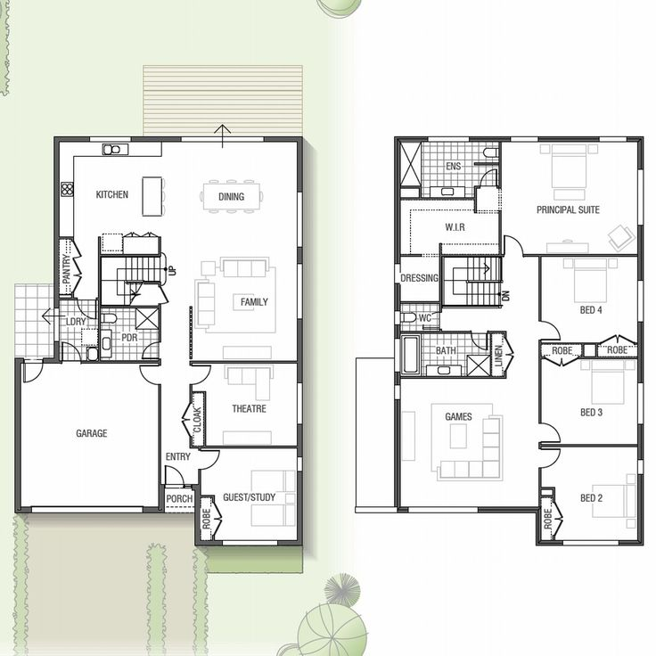 Sekisui House - Two storey Mapleton home design with home theatre and games room: Sekisui House