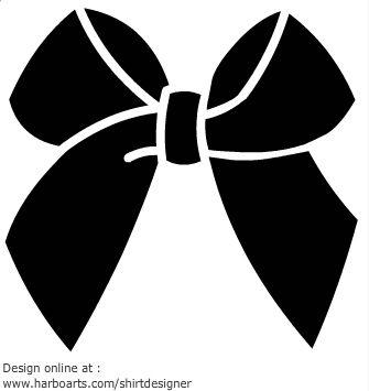 ribbon-bow-black: Bow Stencil, Black Bows, Clip Art, Ribbon Bows ...