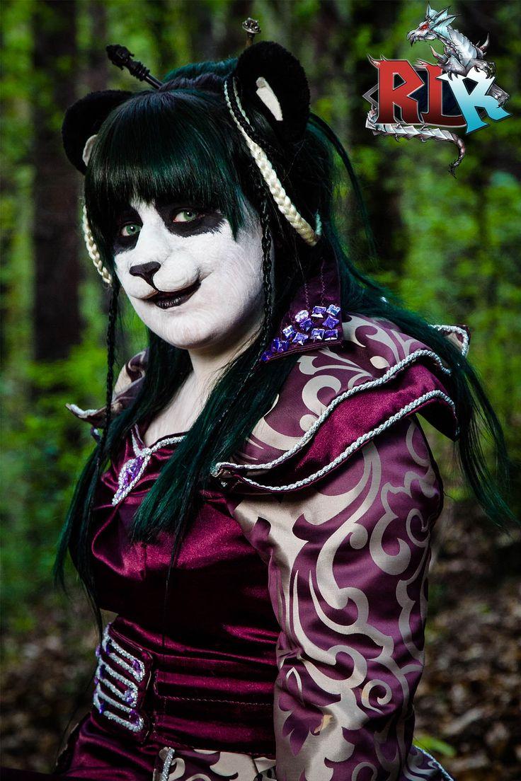 fot. Marek Walczyk World of Warcraft cosplay,  WoW Mists of Pandaria Blizzard