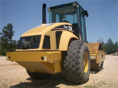 """Get Best Deal on Used 2004 #Caterpillar #Compactors with Free Price Quotes by Armadillo Tractor INC for $ 79000 in Waller, TX, USA. The Used 2004 Caterpillar Compactor is Available good working condition with Installed features as  Cab, Ac, 2450 Original Hours, 84"""" Smooth Drum Vibratory, Diamond Tread Tires @ 70%  and many more. If you Interested to see more details, then click to log on At: http://goo.gl/iUnfw6"""