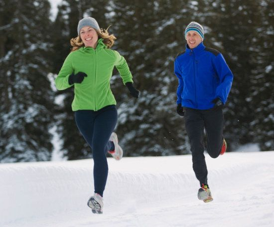 Running outside in the winter IS harder on your lungs. I thought it was just me. Here's a good article on what you can do to prevent feeling the effects.