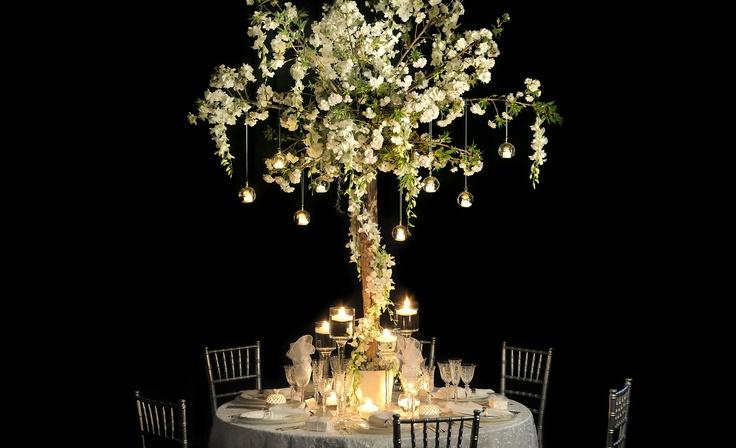 Wedding table - magical