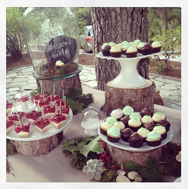 Beautiful set by @RockPaperScissors and sweets from www.thesweetspot.gr