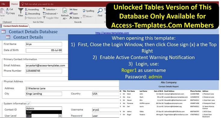 Sample Access Management Resume Crm Basicms Access Templates Ms