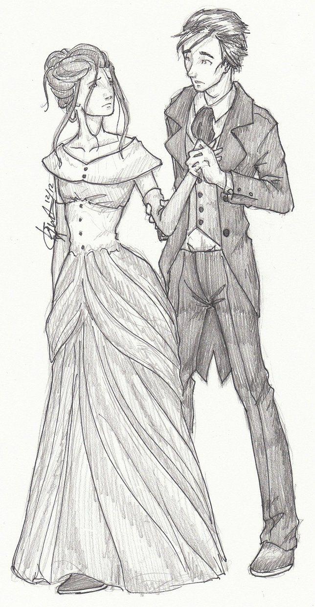 Tessa And Will By ~iceridden On Deviantart ~pinned By Clary · Clockwork  Princessdeviantartthe Infernal Devicesbook