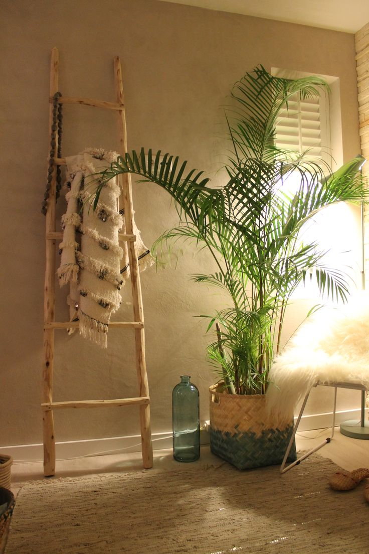25 beste idee n over houten ladder op pinterest dekens shanty chic en houten ladder inrichting - Deco chique kamer ...