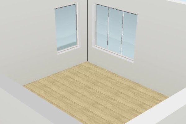 Quick Designing Tip    Corner windows are two windows that are set very close to the corner of a room. Hanging drapes on them can be tricky...